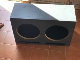 Caixa para auto falante de 12 polegadas
