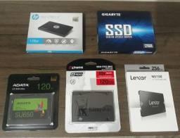 HD's SSD de 120GB e 256GB
