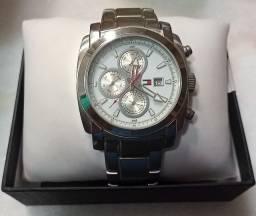 Relógio masculino Tommy Hilfiger 100% aço original!