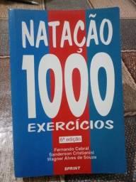 Natação 1000 exercícios Em ótimo estado! informações na descrição