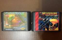 Mega Drive - Flashback e Wolverine