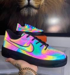 Título do anúncio: Tênis Nike Air Force Chameleon