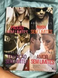 4 livros Coleção Sem limites