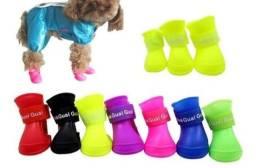 Sapato Impermeável Pra Animais De silicone