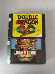 2 jogos de Mega Drive por R$50