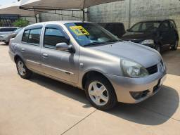 Clio sedan 1.6 FLEX 2009 Completinho