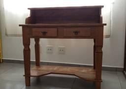 Escrivaninha madeira maciça