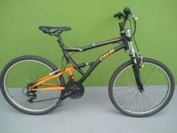 Vendo bicicleta Caloi XTR 21V preta