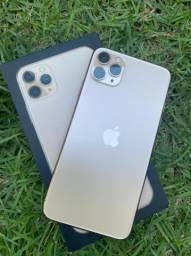 iPhone 11 Pro max gold R$6.599,00