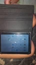 Título do anúncio: Vendo um tablet da Multileser sem marcas de uso Na capa de couro e na pelicula