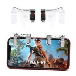 Gatilho de metal para celular jogar Free Fire L1+R1 novo e garantia