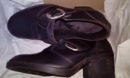 1 Tênis Rainha Semi Novo E 1 Sapato Feminino Novo
