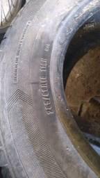 4 pneus  meia vida  aro 18