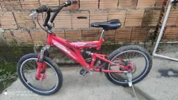 Bicicleta aro 20 semi novo