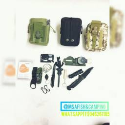 Kit Camping Tático