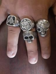 Anéis em Aço