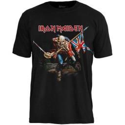 Camiseta Iron Maiden - Camisetas Oficiais Licenciadas