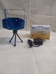 Mini projetor de Led Canhão Laser com Efeitos de Festas ? Entrega grátis
