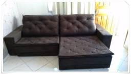 Título do anúncio: Preço Bom!! Sofá Retrátil Martins 2,5m (Direto De Fábrica)