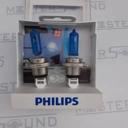 Lâmpada Philips, H4. DiamondVision. Super Branca. Nova. Instalada