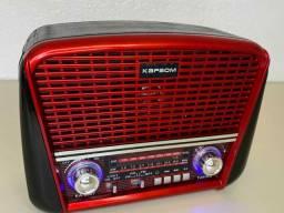 Título do anúncio: Rádio Retrô Portátil Ferrari Vintage C/ AM e <br>Fm