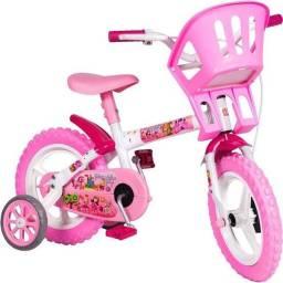 Bicicleta infantil aro 12 com Cadeirinha<br>