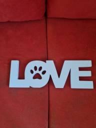 Título do anúncio: Nome love em mdf