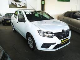 Renault Logan 2021 Life Flex Completo ( Aceitamos troca e financiamos )