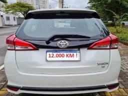 Toyota Yaris - ( 12.000 KM ) - 1.5 XL Plus Connect - 20/20 - CVT - 2021 Vistoriado