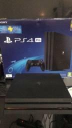 Título do anúncio: Playstation 4 PRO ZERADO COM CAIXA