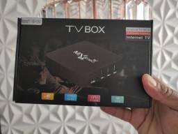 TV BOX MXQ Pro 5g 4k! Melhor custo benefício! Até 400 Canais..