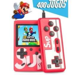 Título do anúncio: Mini Game 400 Jogos com Controle