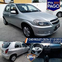 Chevrolet Celta LT 1.0 2013 Completo - Único dono