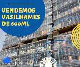Vende-se vasilhames de garrafas 600ml