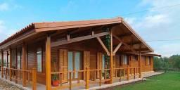 Casas de Madeira projetos e construção