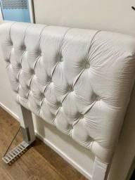 Título do anúncio: Cabeceira cama box solteiro branca