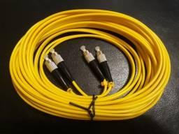 Cabo fibra ótica 2 núcleos
