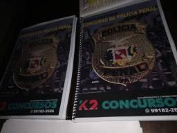Temos a apostila e o curso preparatório para o Concurso da POLÍCIA PENAL do Pará.