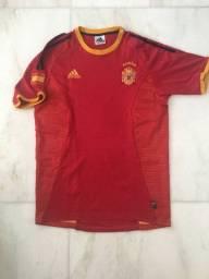 Camisa Espanha Home 2002