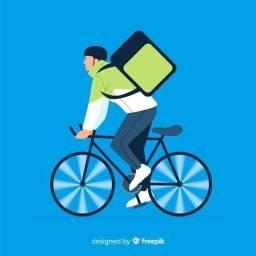 Bike entregador