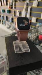 Relogio Inteligente Smartwatch P70 DaFit Pulseira Extra de Brinde