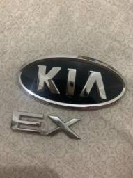 Emblema traseiro KIA