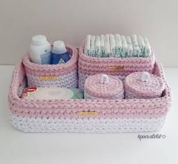 Kit higiene de crochê