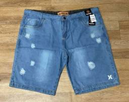 Título do anúncio: Bermuda Jeans Plus size