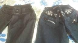 Lotinho de calcas jeans femeninas 150,00