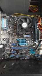 KIT Computador Amd fx(tm)-43A00 quad-core 3.80 GHz + 4 de ram ddr3 1333mhz + SSD