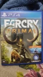 FarCry primal - PS4 - mídia física