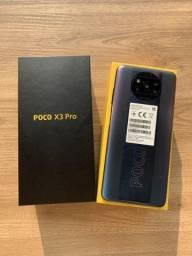 Celular Poco X3 Pro 128gb 6gb Ram Octa Core Versão Global - NOVO!