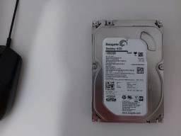 Título do anúncio: HD Seagate 1TB + HD Samsung 80GB