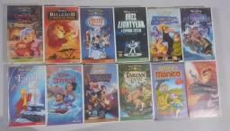 12 Fitas VHS Disney originais